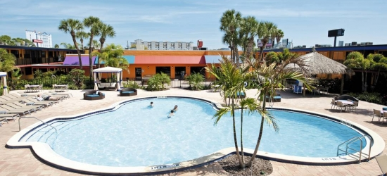 Save up to £159 off a trip to USA staying at the Coco Key Hotel and Water Park Resort, Orlando, Florida, USA