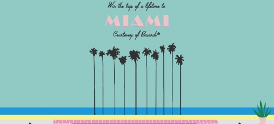 Win a trip for two to Miami