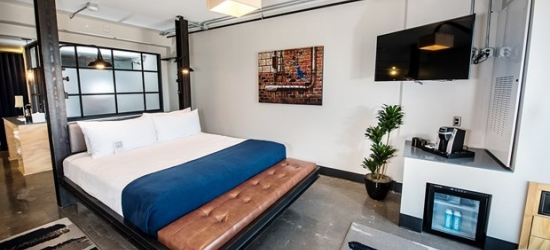 £174 --Phoenix: Downtown Art Boutique Hotel, 50% Off