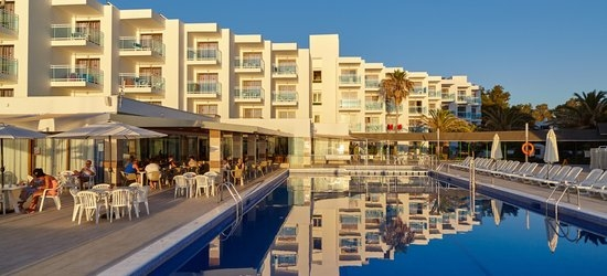 7 nights at the 3* Nereida Aparthotel, San Antonio Bay, Ibiza