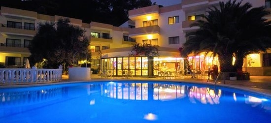 7 nights at the 3* Balansat Apartments, Puerto San Miguel, Ibiza