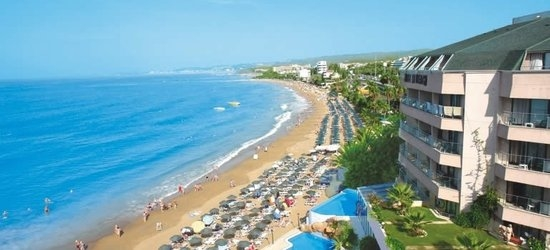 7 nights at the 4* Aska Hotels Just In Beach, Alanya, Antalya