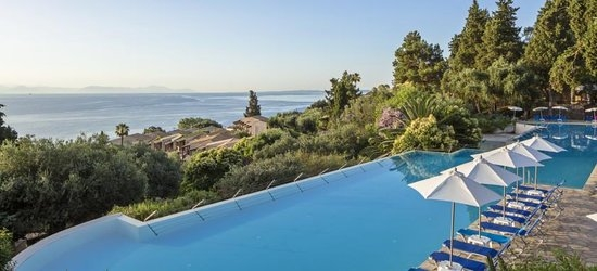 Perama, Corfu -- 7 nights at the 4* Aeolos Beach Resort from £391pp