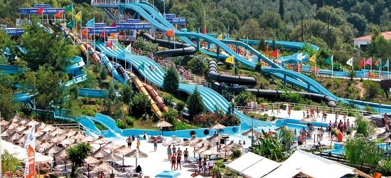 7 nights at the 4* Aqualand Resort, Aghios Ioannis, Corfu