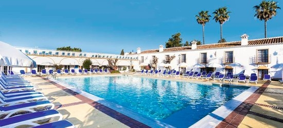 7 nights at the 3* Hotel Globales Cortijo Blanco, San Pedro de Alcantara, Costa del Sol