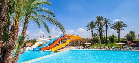 7 nights at the 4* LABRANDA Targa Club Aquapark, Marrakech