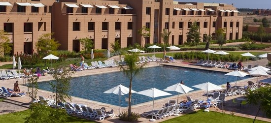 7 nights at the 4* Aqua Mirage Club, Marrakech