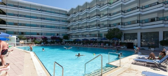 7 nights at the 4* Belair Beach, Ixia, Rhodes