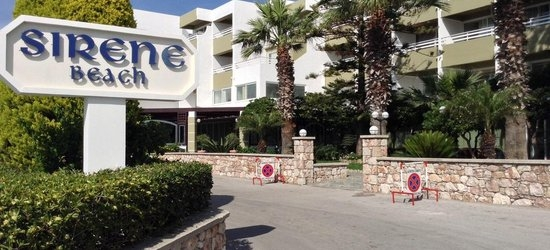 7 nights at the 4* Sirene Beach Hotel, Ixia, Rhodes