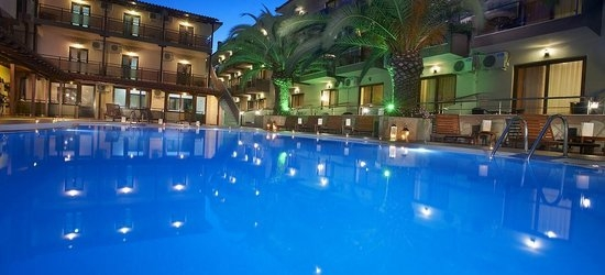 7 nights at the 3* Simeon Hotel, Metamorfosi, Halkidiki