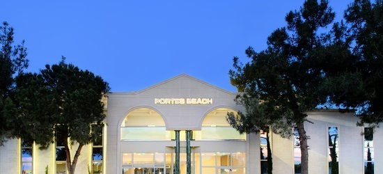 7 nights at the 4* Portes Beach, Nea Potidea, Halkidiki