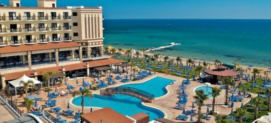 7 nights at the 5* Constantinos the Great Beach Hotel, Protaras