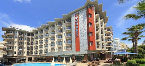 7 nights at the 4* Monart City Hotel, Alanya, Antalya