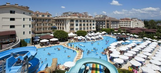 7 nights at the 4* Grand Seker Hotel, Side, Antalya