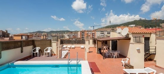 3 nights at the 3* Aparthotel Bertran, Barcelona, Costa Brava