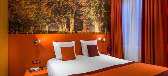 3 nights at the 3* Les Jardins de Montmartre, Paris, Ile de France