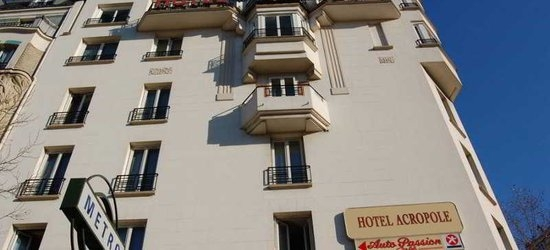 Paris, Ile de France -- 3 nights at the 3* Acropole from £193pp