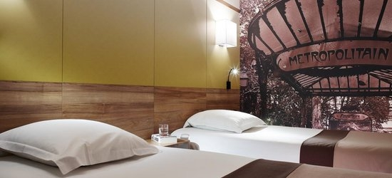 3 nights at the 3* Median Paris Porte de Versailles, Paris, Ile de France