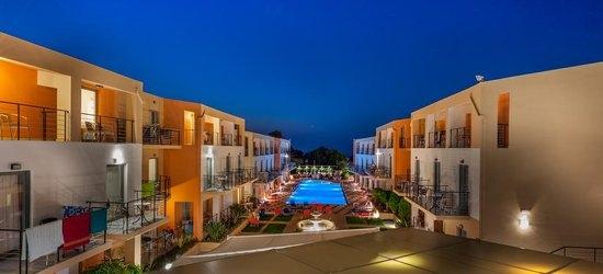 7 nights at the 3* Sunrise Village Hotel-Platanias, Platanias, Crete