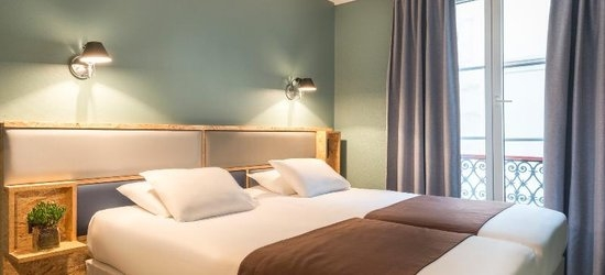 3 nights at the 3* Hôtel Basss, Paris, Ile de France