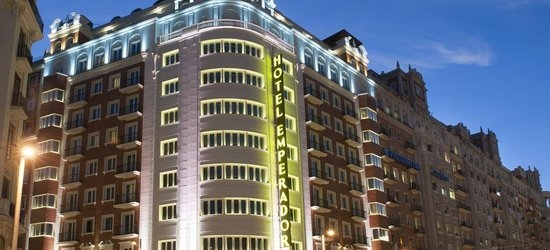 3 nights at the 4* Emperador, Madrid