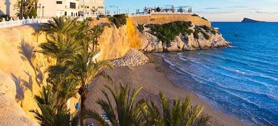 Spanish beach break in Benidorm