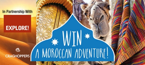 Win an 8-night Morocco adventure for two