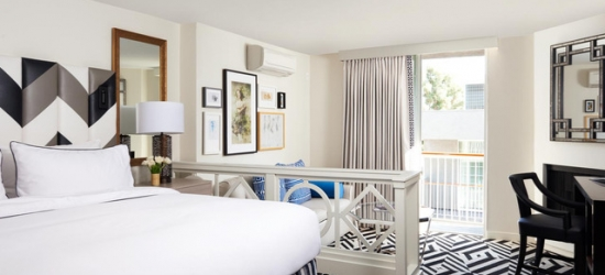 £117 per room per night   Chamberlain West Hollywood, West Hollywood, California