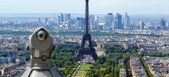 Paris break in arty Montmartre with Eurostar travel & lunch at the Eiffel Tower, Hotel Alizé Montmartre, France