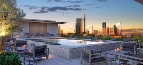£189 per room per night   Hotel VIU Milan, Milan, Italy