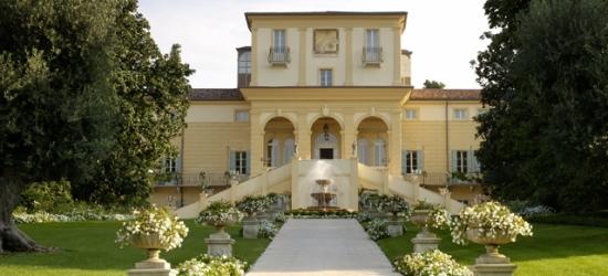 £179 per room per night | Byblos Art Hotel Villa Amistà, Verona, Italy