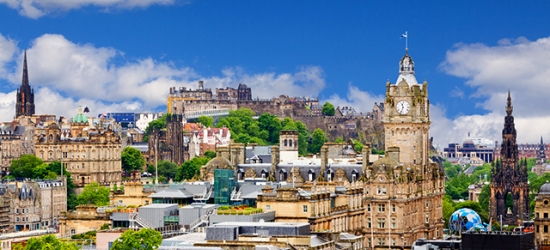 £99 per room per night | Modern Edinburgh escape with afternoon tea, Ten Hill Place Hotel, Scotland