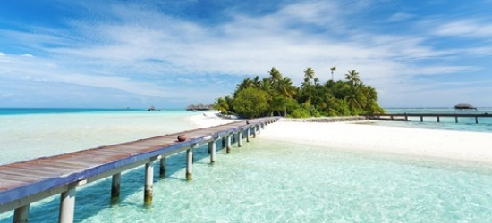 Deluxe all-inclusive Maldives week, save 25%