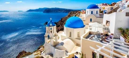 Greece & East Med cruise w/Venice stay, drinks & balcony