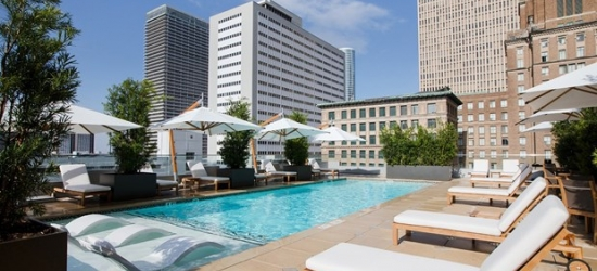 £141 -- Weekends at Luxe Houston Hotel, 50% Off