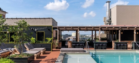 £108 -- New Orleans: Hip Ace Hotel w/Cocktails, 50% Off