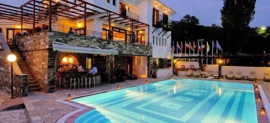 Traditional 4* Pelion hotel, Greece w/outstanding views