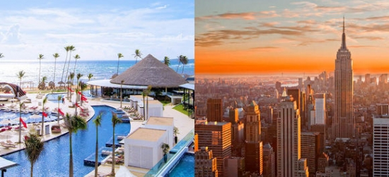 New York & Dominican Republic - Manhattan Break with Luxury Beach Experience at the The Marmara Manhattan 4* & CHIC by Royalton Luxury Resorts 5*