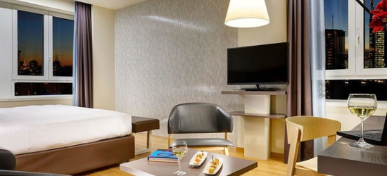 Italy / Milan - Modern Hotel in Central Milan at the UNA Hotel Century 4*