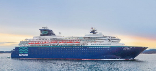 Cruise through Mediterranean highlights on iconic ship