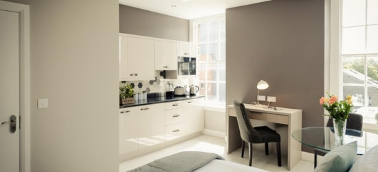 Dublin: 1- or 2-Night Self-Catering Apartment Stay for Two at Dublin Central Suites