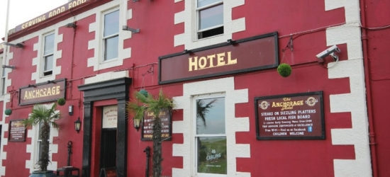 Ayrshire Coast: Standard Room for Two with Breakfast and Option for Dinner