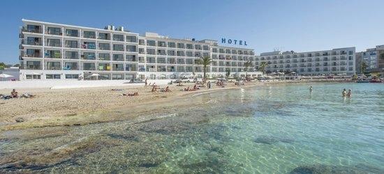 7 nights at the 3* S Estanyol Hotel, San Antonio Bay, Ibiza