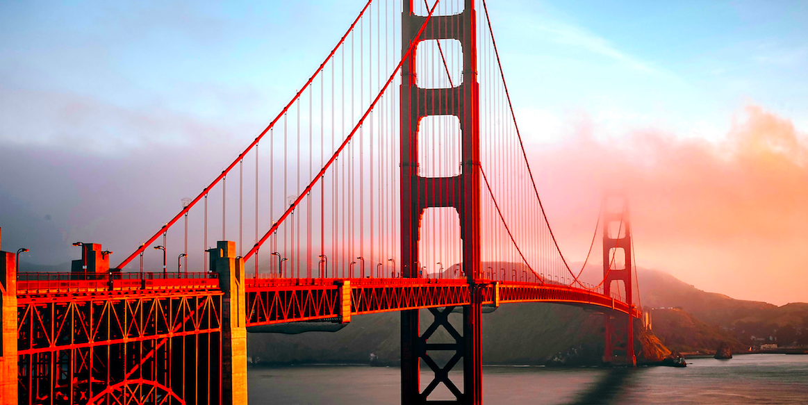 Return full service flights from Manchester to San Francisco just £329