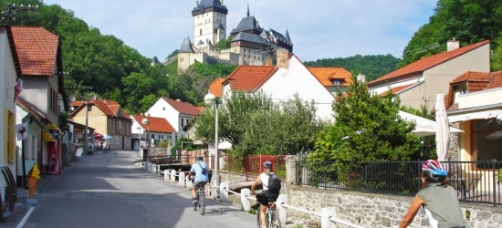 Win a self-guided cycling tour for 2 through the Czech Republic