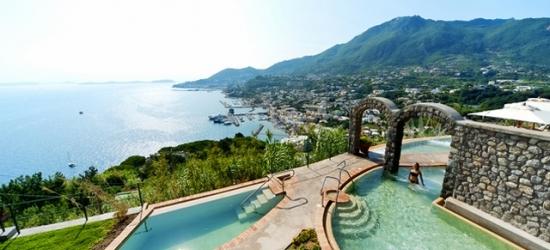 5* idyllic Ischia holiday at a hilltop retreat