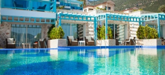 Idyllic Turkey holiday at a boutique hotel with amazing views, Asfiya Seaview Hotel, Kalkan