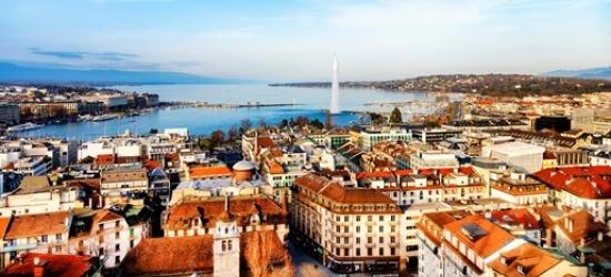 Return flights to Geneva from London City Airport