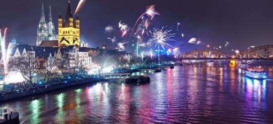 New Year's Eve Rhine cruise & meals