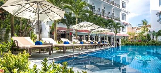 £84-- 2 Nts in Hoi An near UNESCO Town w/Beach Club Access